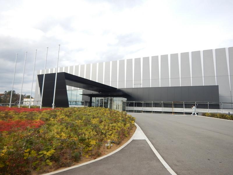 His office at Fukushima Daiichi NPP